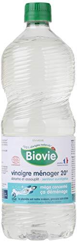Biovie Vinaigre Ménager 20° Eucalyptus Eco Recharge 1 L