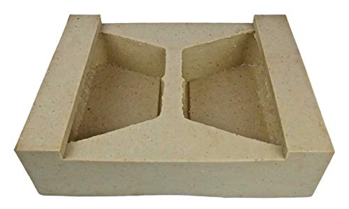 Veneer Stone Rubber Molds for Concrete, Retaining Wall Block 10', Recycled Material