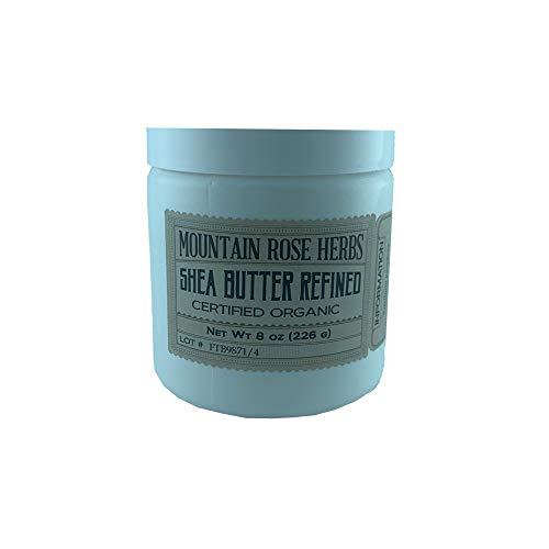 Mountain Rose Herbs Shea Butter Refined 8oz Certified Organic