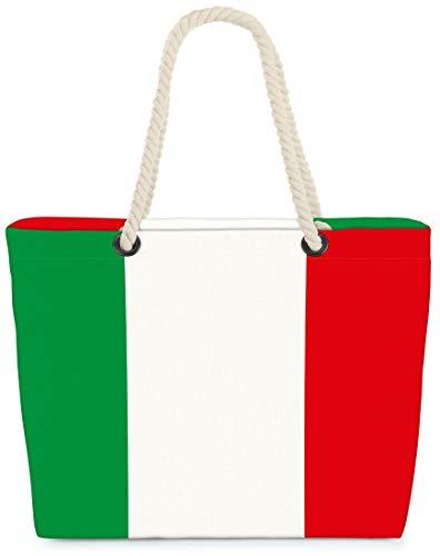 VOID XXL Strandtasche Italien Shopper Tasche 58x38x16cm 23L Beach Rom Squadra Azzurra La Nazionale GLI Azzurri Italy Rome