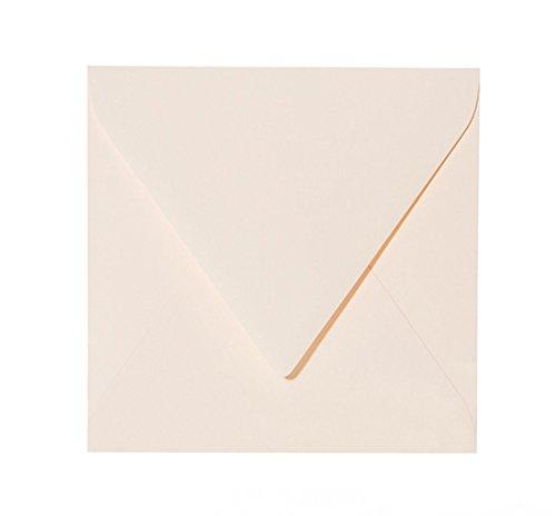 trasparente quadrate Paper24-100 buste per lettere 150 x 150 mm con chiusura adesiva colore: bianco 15 x 15 cm