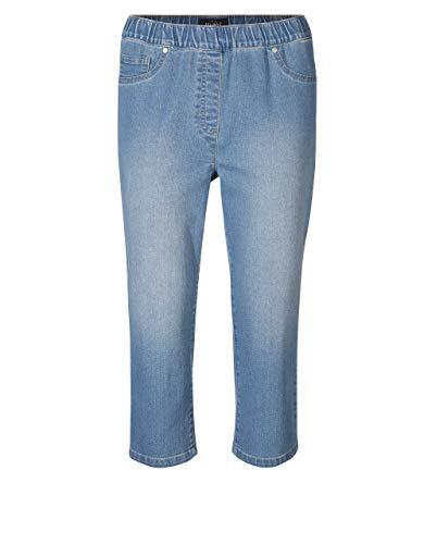 Bexleys Woman by Adler Mode Damen Capri-Jeans in Schlupfform Bleached 40