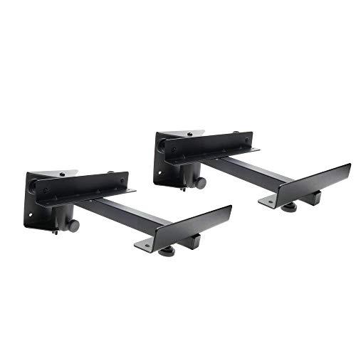 BeMatik - Soporte de altavoz de pared hasta 15Kg (2 unidades)