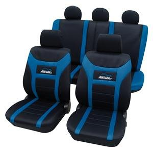 Eco Class Super Speed blau 11 teilig Sitzbezug Schonbezüge Schonbezug Autoschonbezug Sitzbezüge