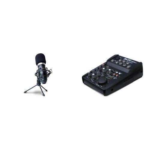 Marantz Professional MPM-1000 Kondensator Großmembranmikrofon mit Nieren-Charakteristik + Alto ZMX52 Professionelle Kompakter (5-Kanal Mischpult) Bundle