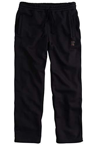 JP 1880 Herren große Größen bis 8XL, Jogginghose, Hose mit elastischem Bund und Saum, 2 Eingrifftaschen, gerade geschnitten schwarz XXL 702635 10-XXL