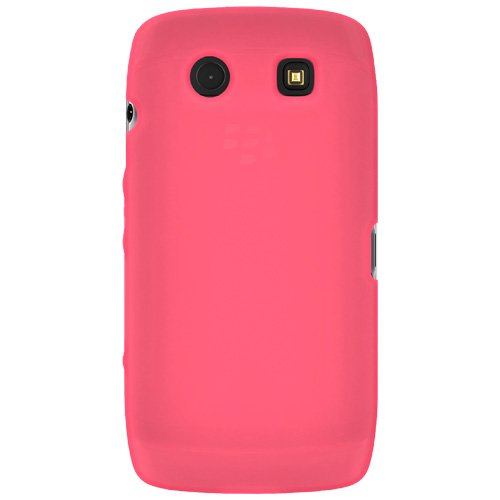 Amzer Silicone Skin Jelly Case for BlackBerry Torch 9850/9860 - Baby Pink