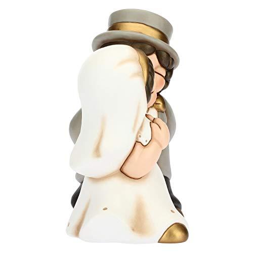 THUN - Coppia Sposini Classici - Cerimonia - Bomboniere Matrimonio - Linea I Classici - Formato Maxi - Ceramica - 25 x 16,3 x 29,64 h cm