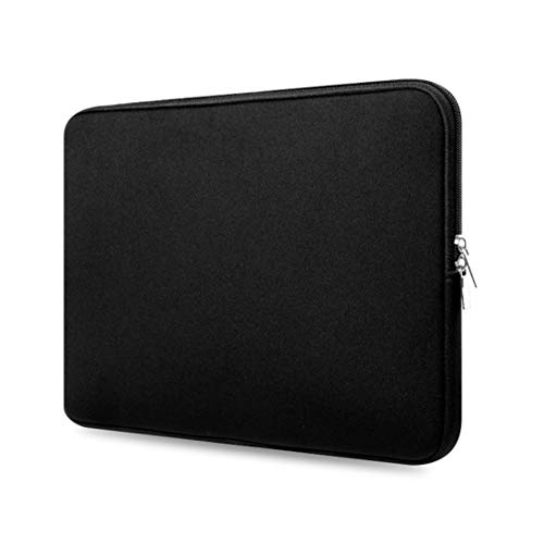 13 Inch Notebook Bag Pouch Repellent Shockproof Protection Bag Laptop and Tablet Bag Case Cover for Macbook - Black