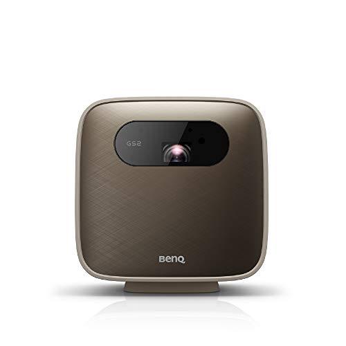 BenQ モバイルプロジェクター GS2 LED光源 500lm 解像度1280x720 AndroidベースOS内蔵 ワイヤレス 無線LAN Bluetooth内蔵