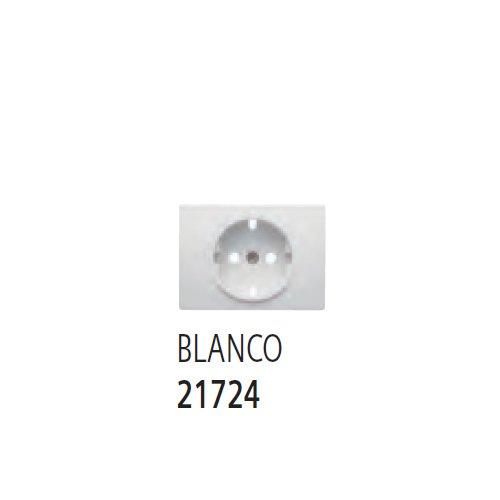 Bjc - 21724 tapa base enchufe seguridad coral blanco Ref. 6530510253