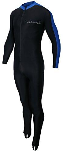 Ubestyle UPF 50+ Lycra Full Body Sports Dive Skins Rash Guard Swimsuit - Diving Snorkeling Swimming