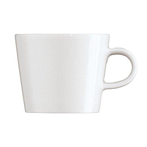 Arzberg Cucina Kaffeetasse, Obertasse, Kaffeebecher, Kaffee Tasse, Becher, Basic White, Porzellan, 220 ml, 42100-590003-14772