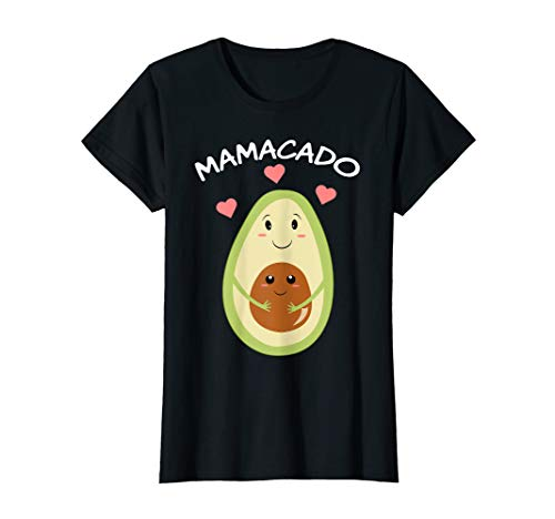 Damen Süßes Mamacado - Avoacado als Mama für werdende Mutter T-Shirt