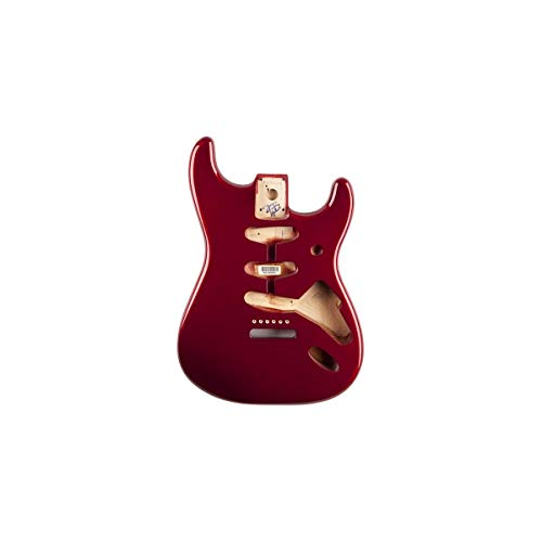 Fender™ Classic Series 60's Stratocaster® SSS Alder (Erle) Body, Vintage Bridge Mount, Candy Apple Red