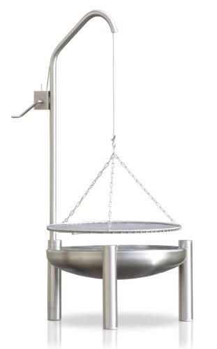 Edelstahl Grill, Ø 50 cm, RICON, deutsche Herstellung