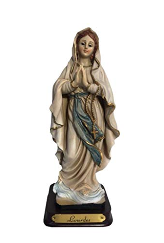 Osiris Trading UK - Figura Decorativa Religiosa de la Virgen María Nuestra Señora de los Lourdes