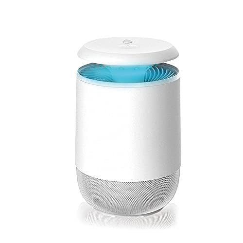 Lámpara Antimosquitos Electrico Exterior,Lámpara inteligente para matar mosquitos para el hogar, repelente de mosquitos de elevación con enchufe USB para interiores,Camping Repelente de Mosquitos