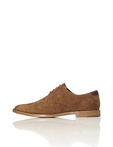 find. Zapatos Óxford para Hombre, Marrón (Tan), 43 EU