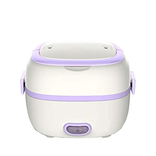 Multi-fonction Mini Cuiseur À Riz Isolant Thermique Boîte À Repas Électrique Récipient À Aliments Chauffage Électrique Lunchbox Avec Vapeur