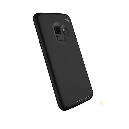 Speck Products Compatible Phone Case for Samsung Galaxy S9, Presidio Sport Case, Black/Gunmetal Grey/Black