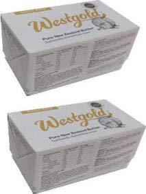 ウエストランド NZ産 グラスフェッドバター 有塩ポンドバター 454g×2個セット