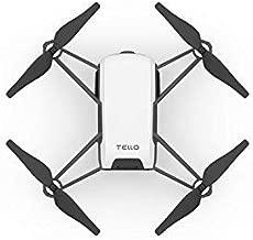 DJI Tello Nano Drone 5MP Camera, 720p Recording, Intel Processor, DJI Drone Flight Technology (Black)