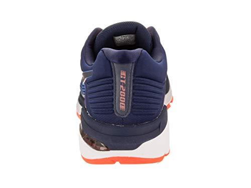 ASICS Gt-2000 6 Trail Plasmaguard Chaussures de course pour homme - Multicolore - Bleu foncé, bleu...