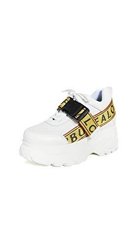 Buffalo London Galip off White Sneakers Low White, Woman - Leather BFLGALIP WH