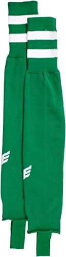 Erima Stutzen Streifenstutzen Calcetines de Fútbol, Unisex niños, Verde Smaragd / Blanco, 37-40 (Talla del fabricante: 2)