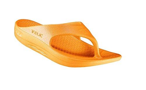 Telic Unisex VOTED BEST COMFORT SHOE Arch Support Recovery Flipflop Sandal +BONUS Pumice Stone...