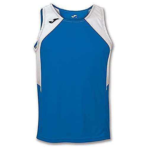 Joma Record, Camiseta de Tirantes para Hombre, Azul (Royal - 702), L