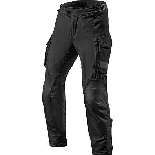 REV'IT! Motorradhose Offtrack Textilhose schwarz L, Herren, Enduro/Adventure, Ganzjährig