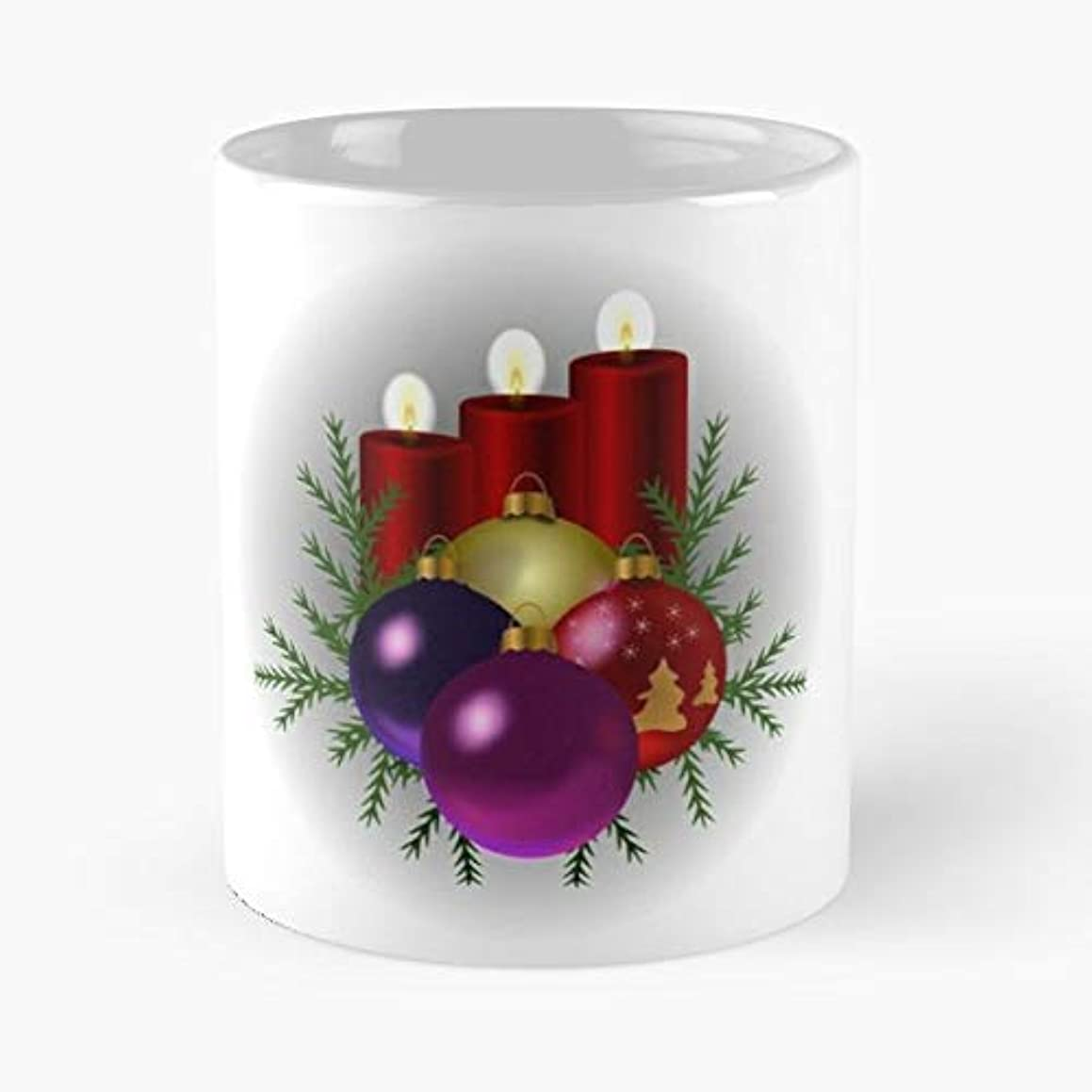 Candles Christmas Tree Decorations Pine -funny Present For My Greatest Boss Male Or Female, Men, Women, Great Office Gift Mugs, Birthday, Leaving, Bold, Cup, 11 Oz
