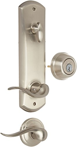Kwikset 508TNL-15S Interconnected Passage Door Lock Smart Key Satin Nickel Finish