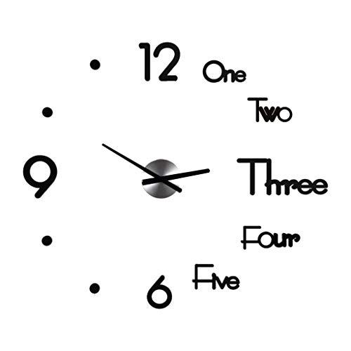 HERVI CYQ Wanduhr, Bowle frei Uhr Wanduhr, Startseite Modern Fashion einfache Dekoration Persönlichkeit kreative Taktgeber for Wohnzimmer