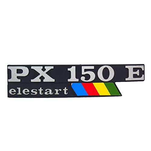 TARGHETTA SCRITTA STEMMA FREGIO LATERALE VEPA PX 150 E ELESTART ARCOBALENO V PX 150