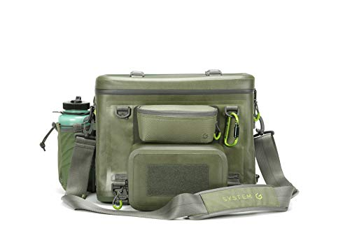 Outdoor+ CORA Tackle Bag Bundle   Outdoor   Saltwater Resistant Waterproof   Large Storage Bag  Fit with 3600 Tackle Box   Rod Holder Accessories