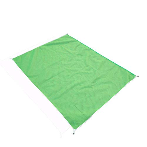 N/ Picnic Mat 2M/1.5M Magic Sand Without Beach Mat Beach Picnic Waterproof Camping Mattress Foldable Blanket Without Beach Mat-Green_200Cmx200Cm