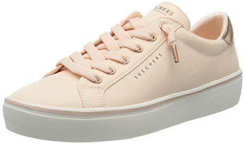 Skechers 2.0-Slip, Sneaker Donna, Rosa (Lt.Pink Textile/Rose Gold Duraleather Trim Ltp), 37.5 EU