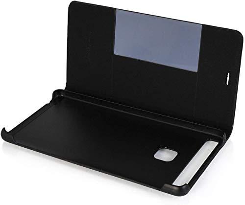 Leder Tasche Schutzhülle Case Flip View Cover für Huawei P9 Schwarz - 5