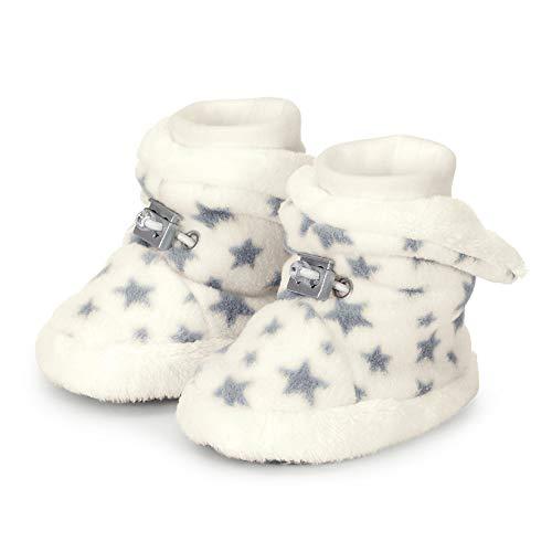 Sterntaler Jungen Unisex Kinder Baby-Schuh Stiefel, Beige (Ecru 908), 18 EU