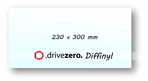 Diffinyl 1x .drivezero Lichtstreufolie 230 x 300 mm, für alle Taschen-/Kopf- und Arbeitslampen