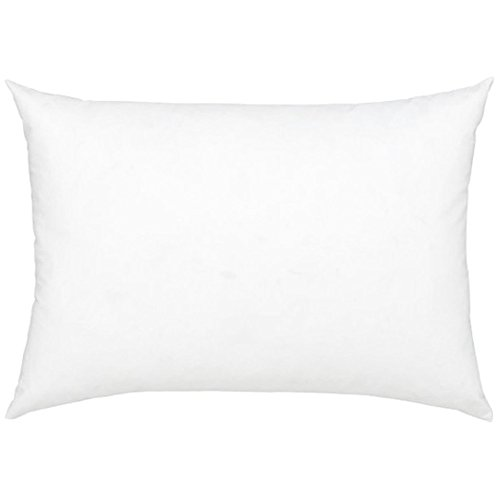 Stuffer Throw Pillow Insert Sham Form Polyester Rectangular Oblong White 14 X 18 Inch