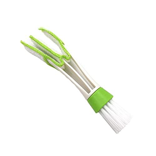 Tubos de paja de aspiradora de automóviles Suciedad de polvo Removedor de cepillo Portátil Universal Ajuste de vacío Coche Limpiador de automóviles Limpiador de autos (Color : Microfiber brush)