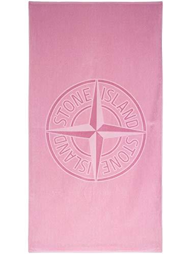 Luxury Fashion   Stone Island Heren 721593177V0086 Roze Katoen Handdoeken   Lente-zomer 20