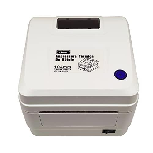 Impressora Térmica Etiquetas Rótulos Cupom 104mm Knup KP1030