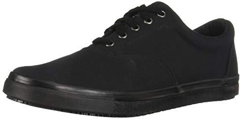 Skechers Men's Sudler-Mabscott Sr Food Service Shoe, Black,10 M US