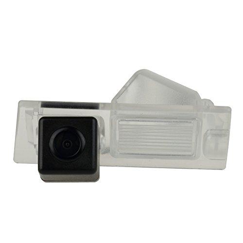Caméra de Recul Voiture en Couleur Kit Caméra vue arrière de voiture Imperméable IP67 avec large Vision Nocturne pour Jeep Cherokee (KL)/ Jeep Cherokee Limited 5TH 2014-2018