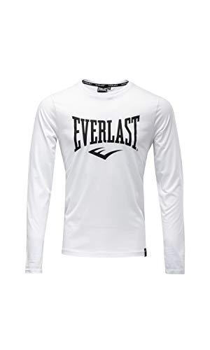 Everlast Herren Sports Pullover, weiß, XL